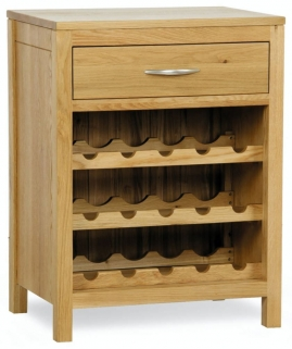 Milano Oak Wine Rack