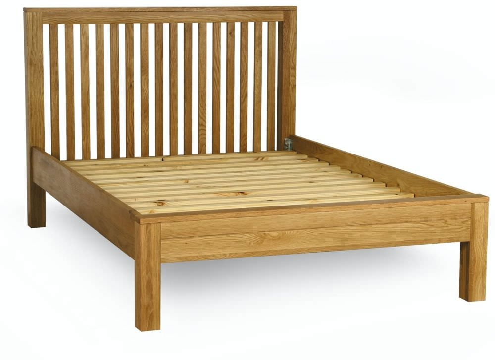 Milano Oak Low Foot End Bed
