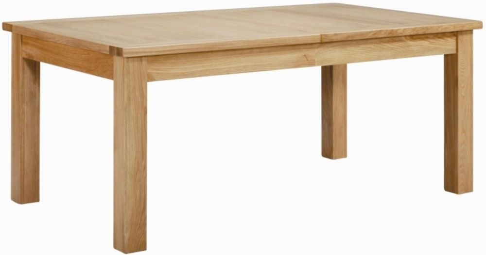 Milano Oak Dining Table - Extending