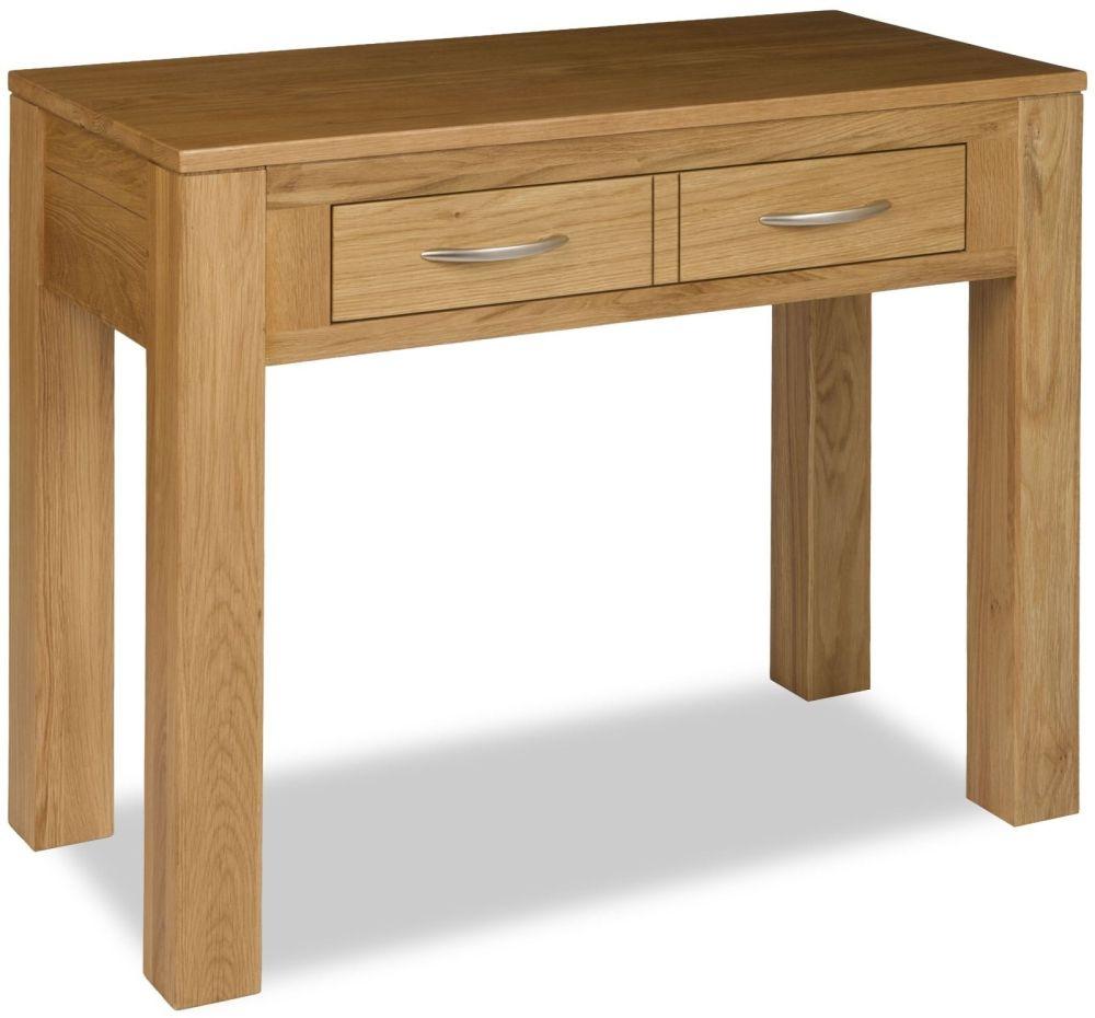 Milano Oak Dressing Table Desk
