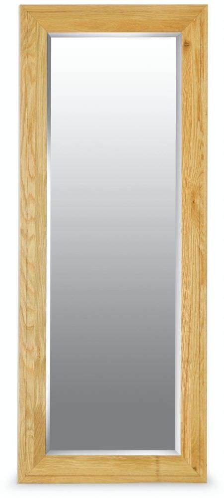 Milano Oak Mirror - Long
