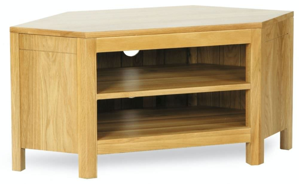 Milano Oak TV Unit - Low Corner