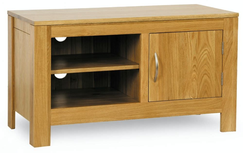 Milano Oak TV Unit - 1 Door