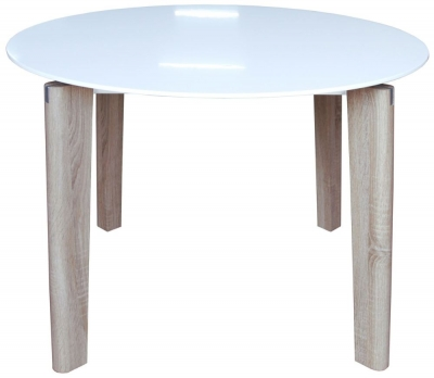 Mirage 100cm Round Dining Table