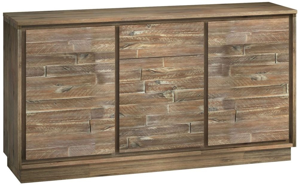 Napoli Sideboard - 3 Door 1 Drawer Wide