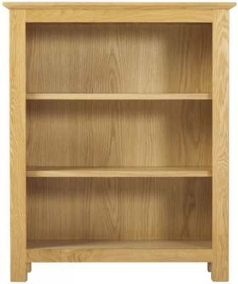 Nordic Oak Low Bookcase