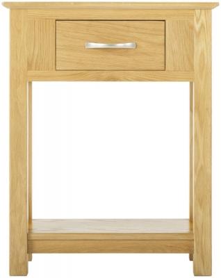 Nordic Oak Small Console Table