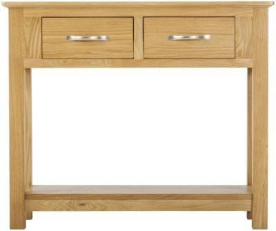 Nordic Oak Console Table