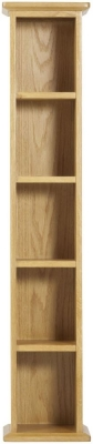 Nordic Oak Single DVD Tower