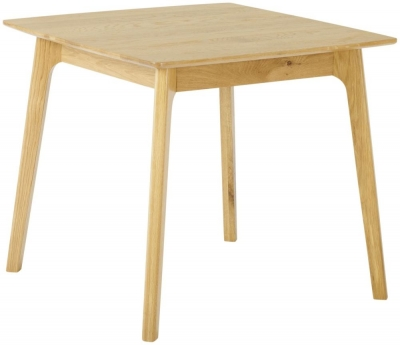 Nordic Oak 85cm Square Dining Table