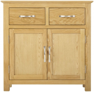 Nordic Oak Mini 2 Door Sideboard