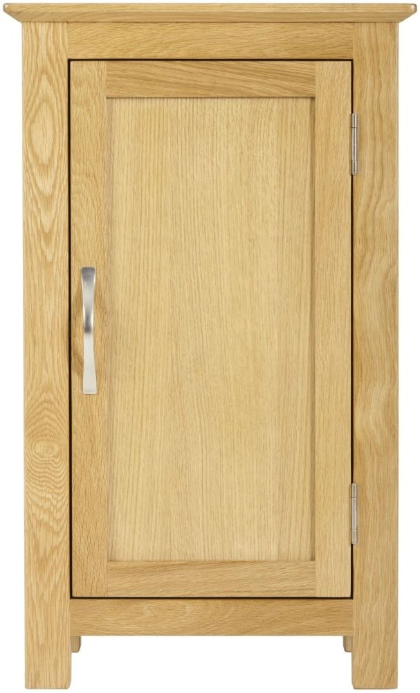 Nordic Oak Cupboard - 1 Door