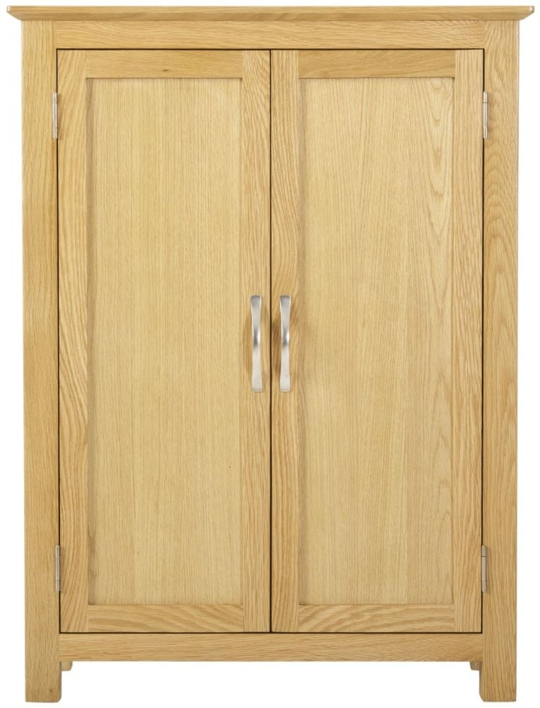 Nordic Oak 2 Door Cupboard