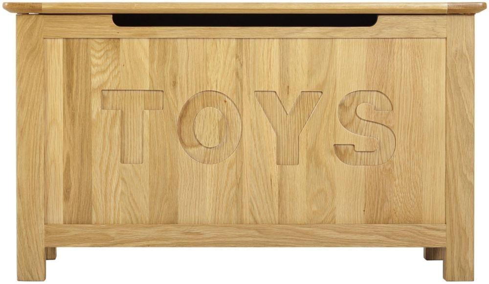 Nordic Toy Box - Oak