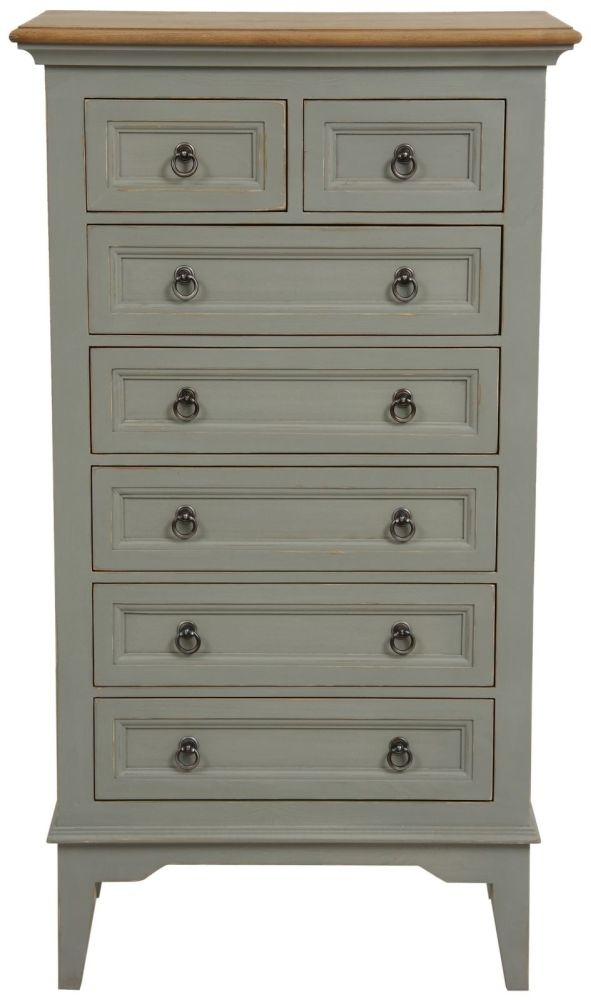 Normandy Painted 7 Drawer Chest