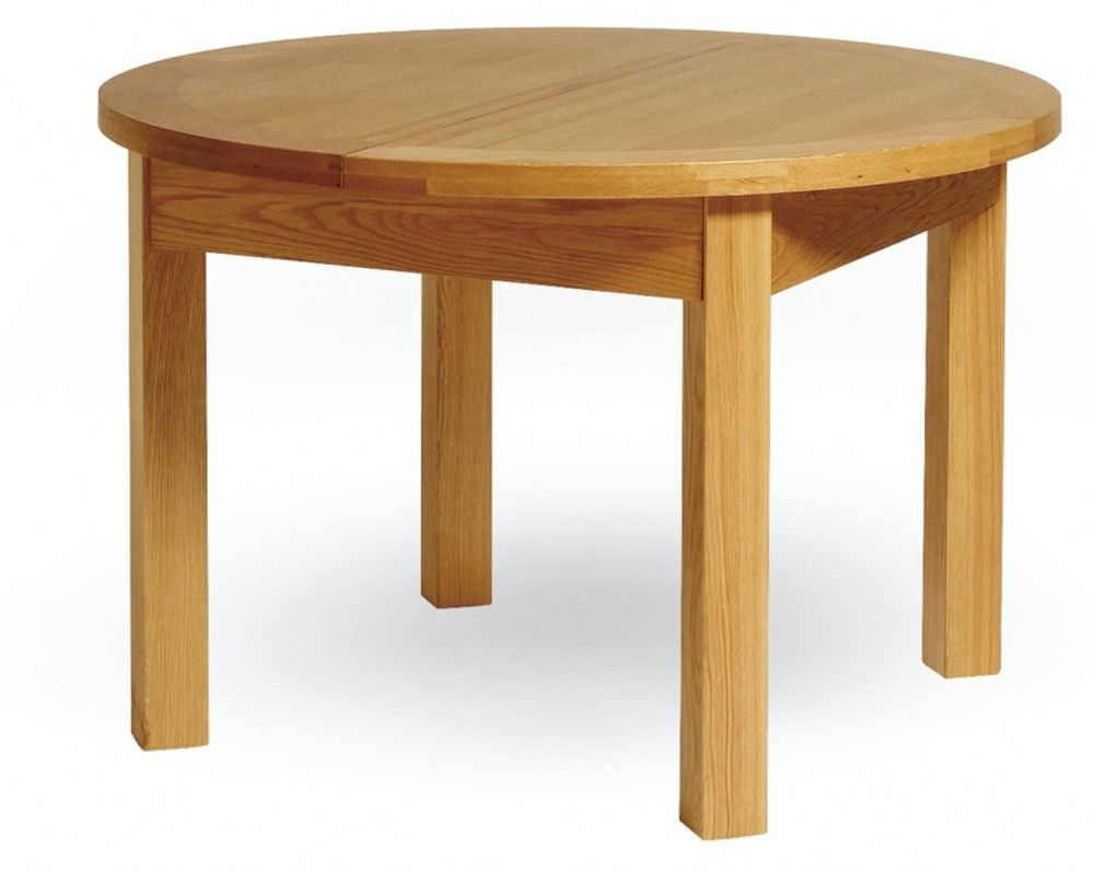 Dining table round extending dining table oak - Dining table images ...