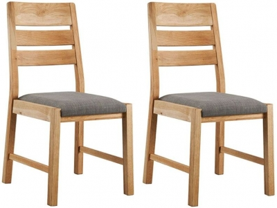 Oslo Oak Dining Chair (Pair)