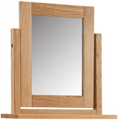 Oslo Oak Dressing Table Mirror