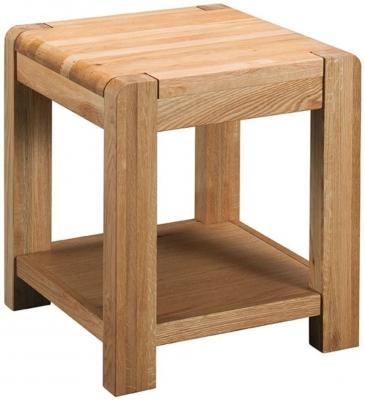 Oslo Oak Lamp Table