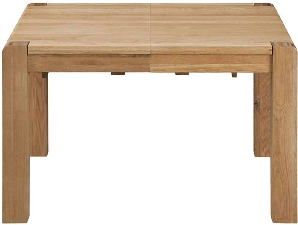 Oslo Oak Dining Table - 125cm-165cm Small Extending