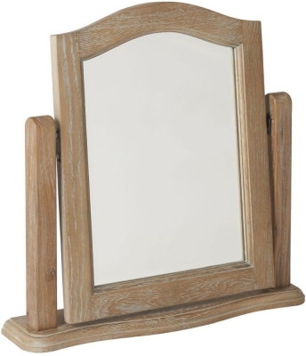 Paris Limed Oak Dressing Table Mirror