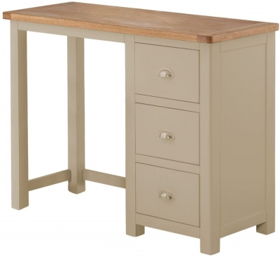 Portland Pebble Painted Dressing Table