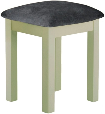 Portland Sage Painted Stool