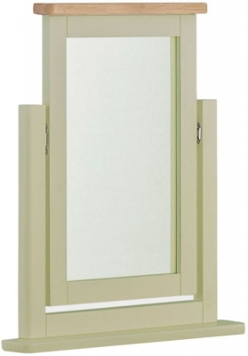 Portland Sage Painted Dressing Mirror