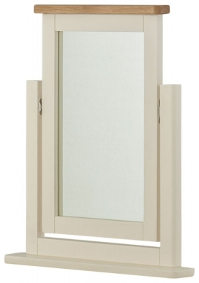 Portland Cream Painted Dressing Mirror