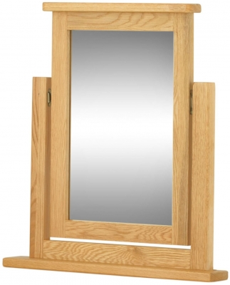 Portland Oak Dressing Table Mirror