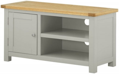 Portland Stone Painted TV Cabinet