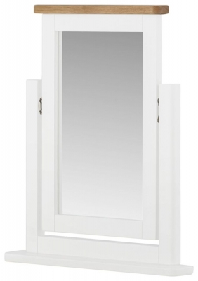 Portland White Painted Dressing Mirror