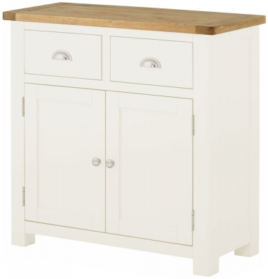 Portland White Painted 2 Door Sideboard