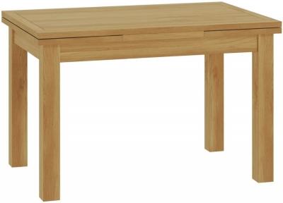 Portland Oak Drop Leaf 120cm-200cm Dining Table