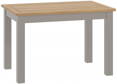 Portland Stone Painted 120cm Dining Table