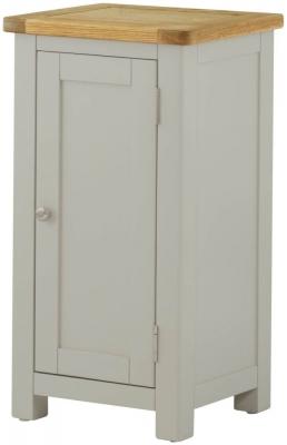 Portland Stone Painted Hall Cabinet - 1 Door