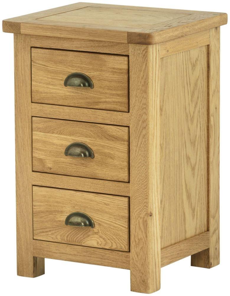 Portland Oak Bedside Cabinet