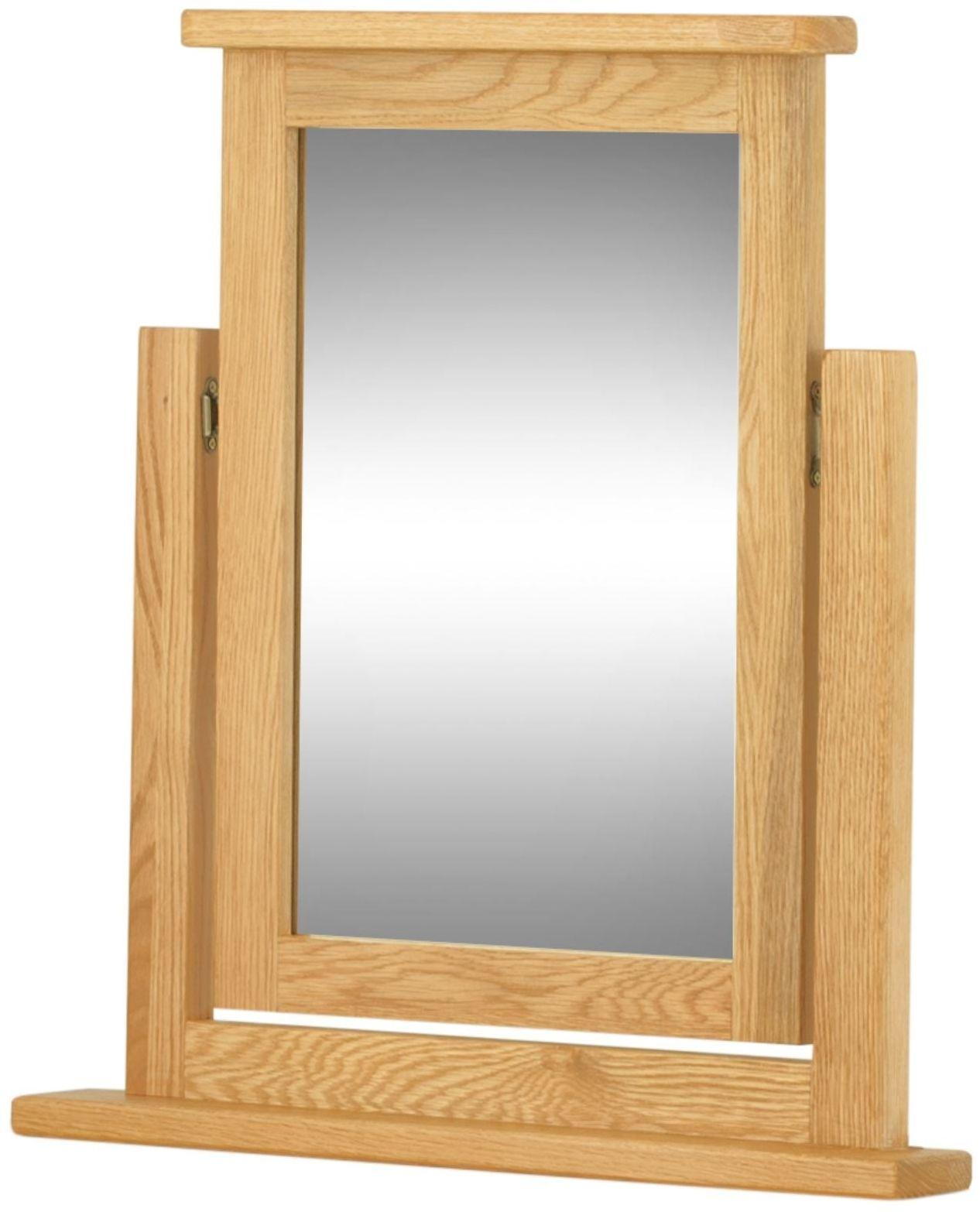 Portland Oak Swing Mirror