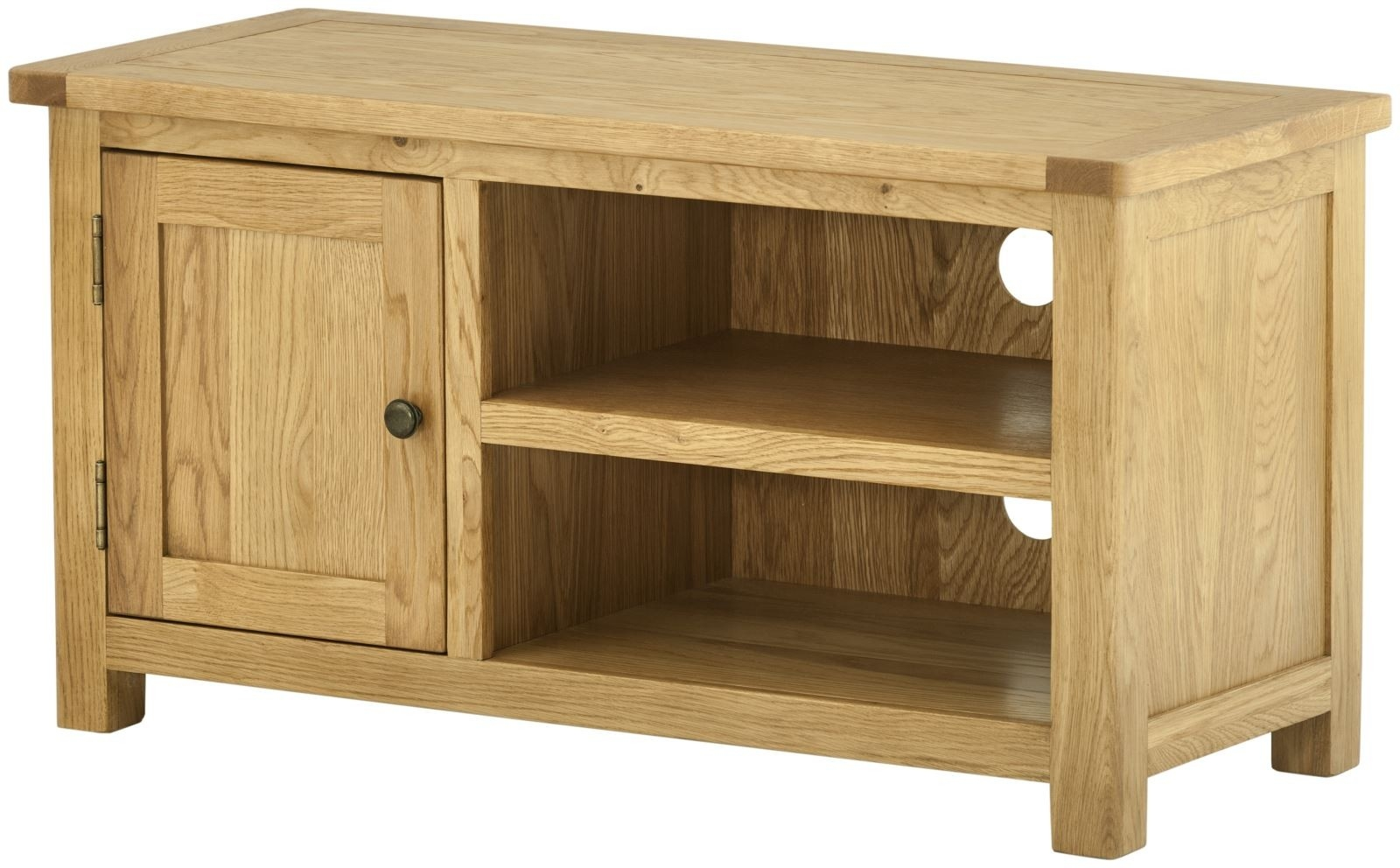 Portland Oak 1 Door TV Cabinet