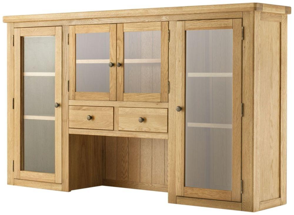 Portland Medium Dresser Top - Oak Grand