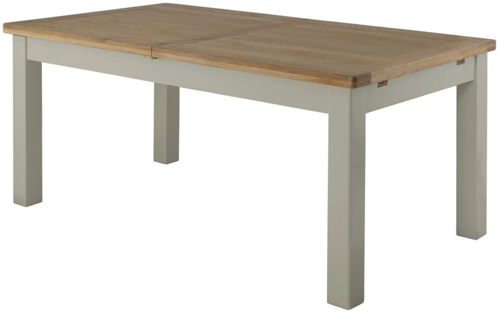 Portland Stone Grand Rectangular Extending Dining Table - 180cm-240cm