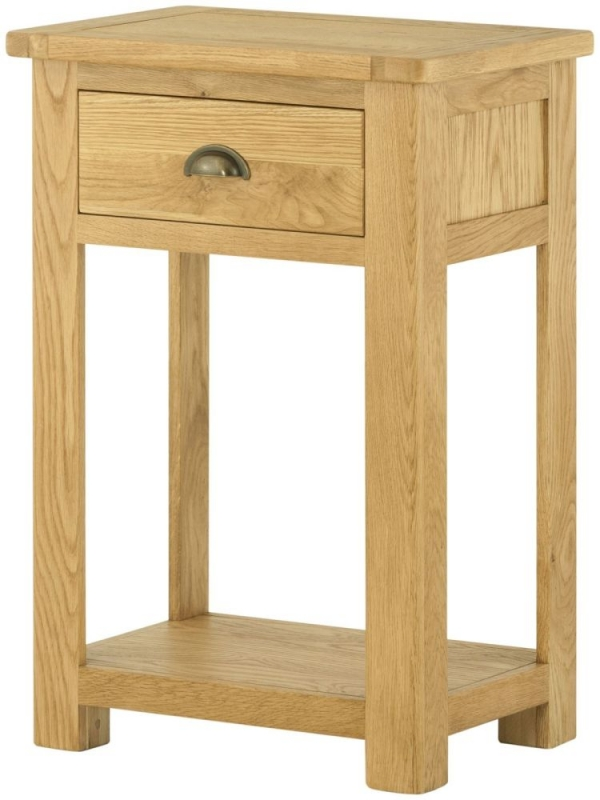 Portland Oak Console Table