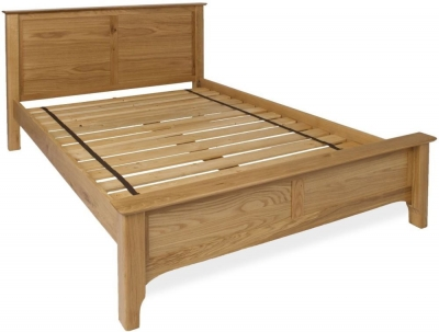 Provence Oak Bed - Low End