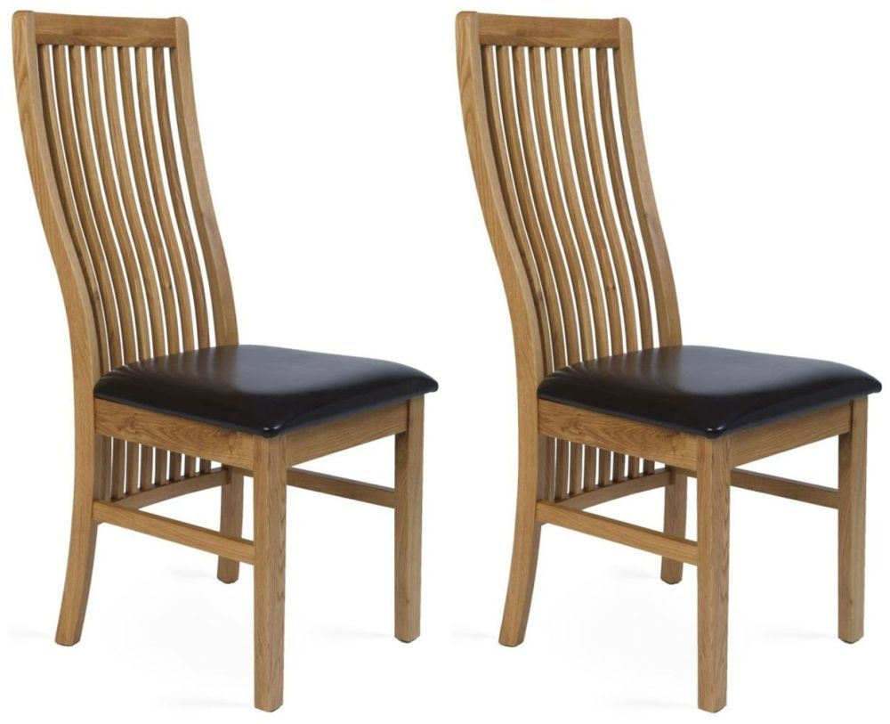 Provence Oak Elle Dining Chair (Pair)