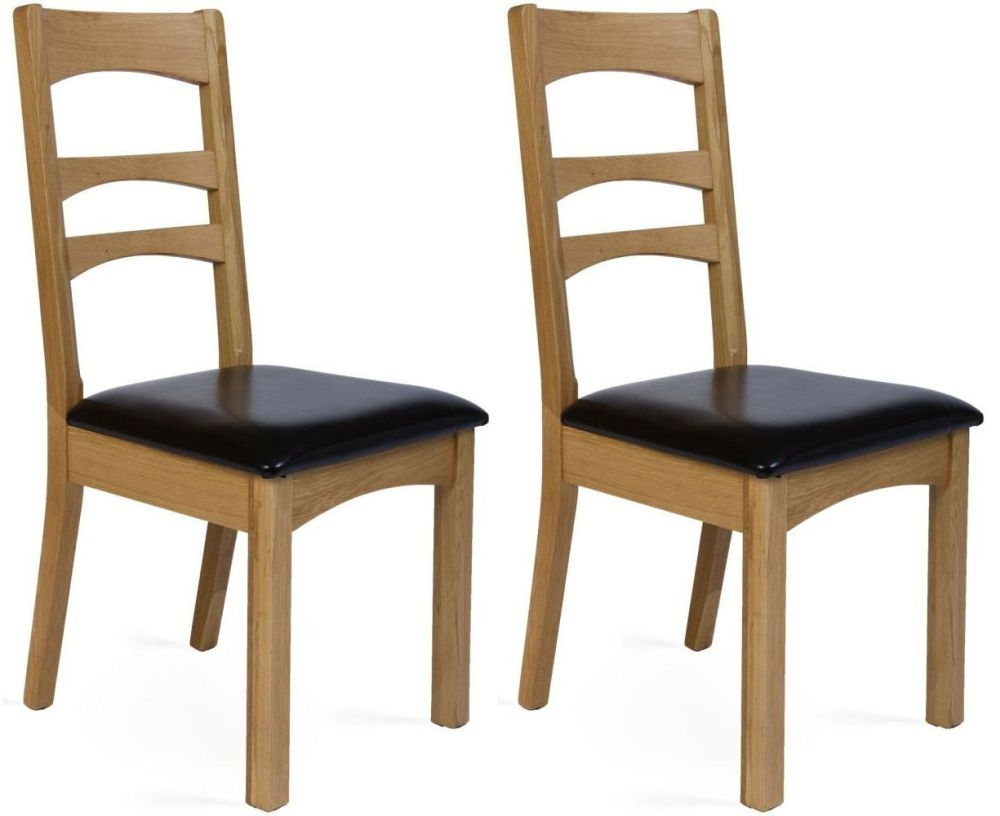 Provence Oak Gina Dining Chair (Pair)