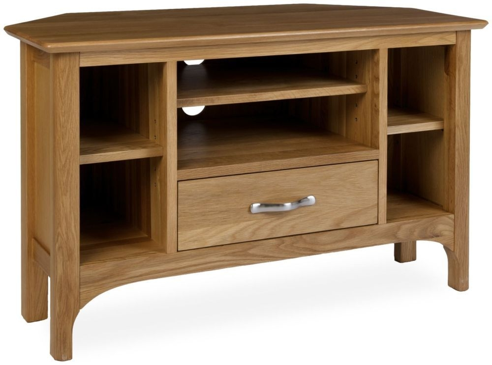 Provence Oak TV Unit - Corner
