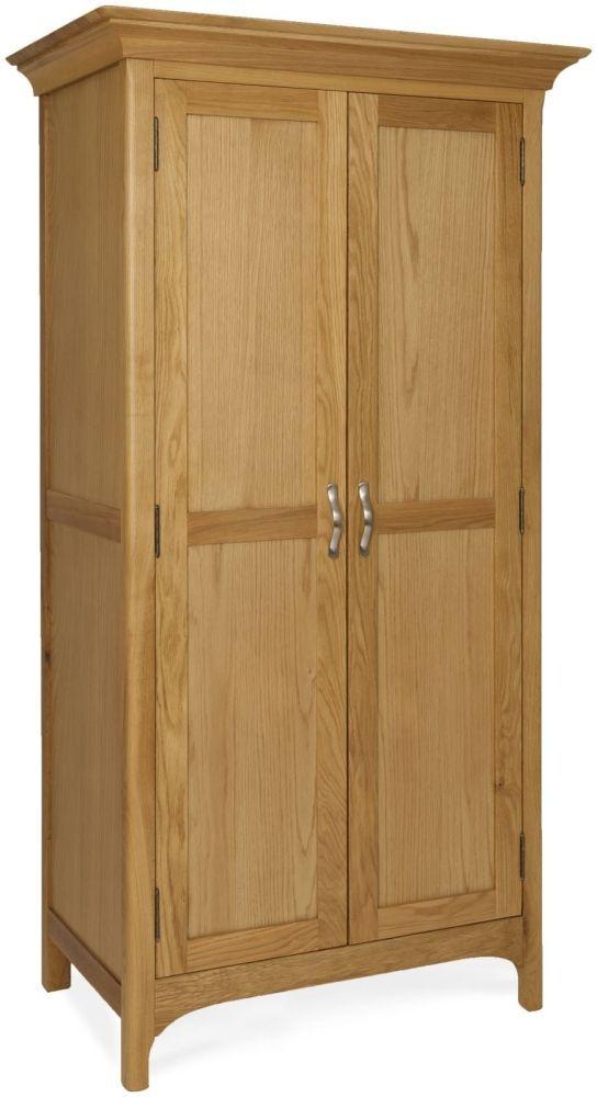 Provence Oak Wardrobe - 2 Door Full Hanging