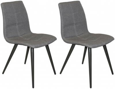 Reflex Grey Dining Chair (Pair)