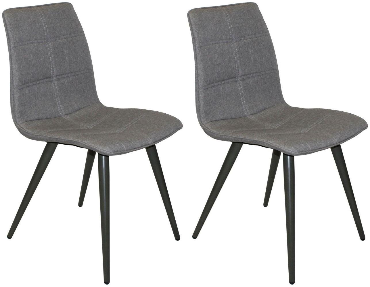 Reflex Grey Dining Chair (Pair)