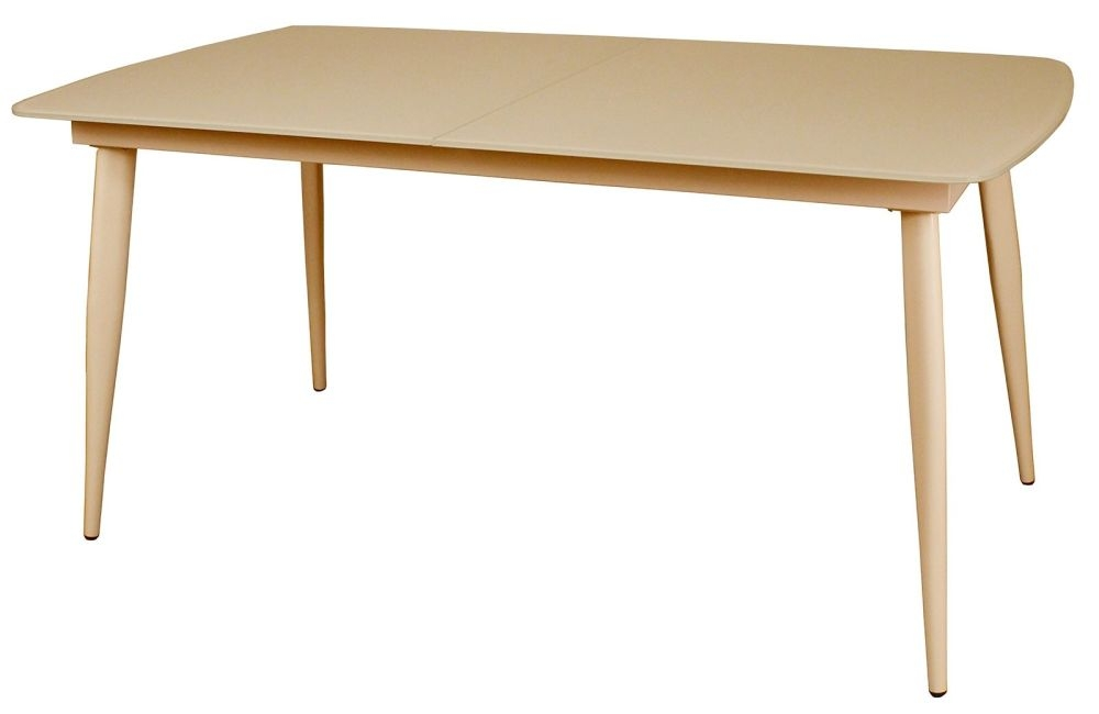 Riva Cappuccino 120cm-150cm Extending Dining Table